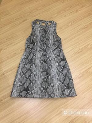 Платье asos. Натуральная кожа. Размер 46