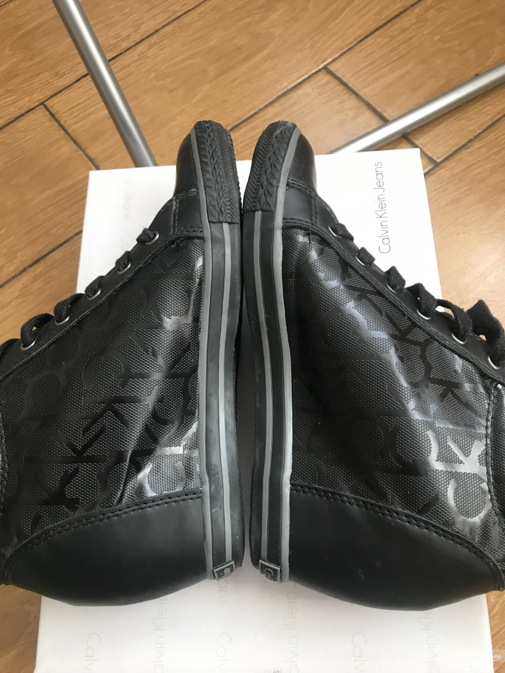 Высокие кроссовки Calvin Klein 38 размер
