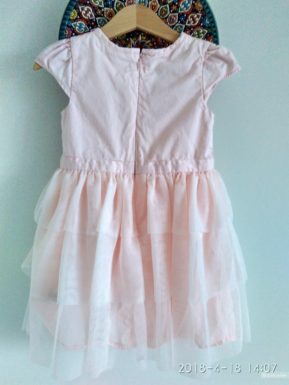 Платье на 2-3 года нарядное OshKosh