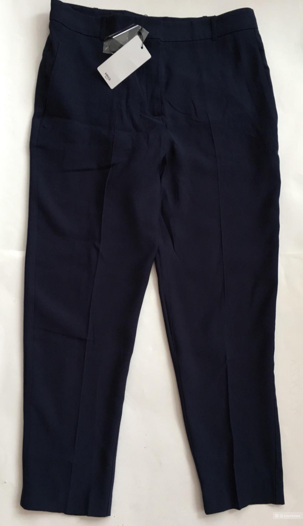 Прямые костюмные брюки Mango, 46 размер