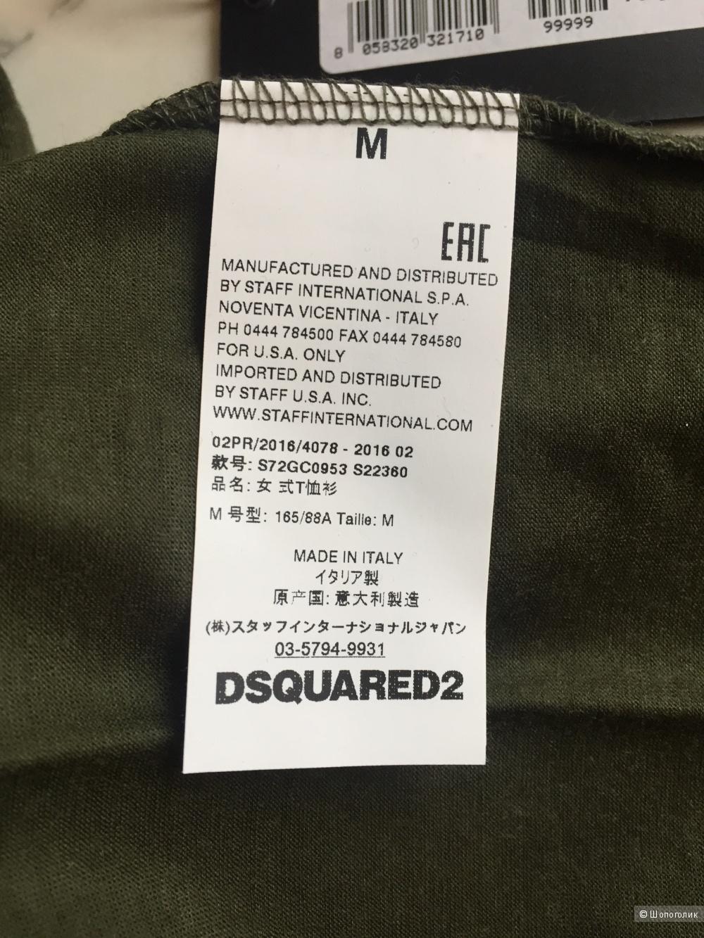 DSquared 2 , футболка , размер M