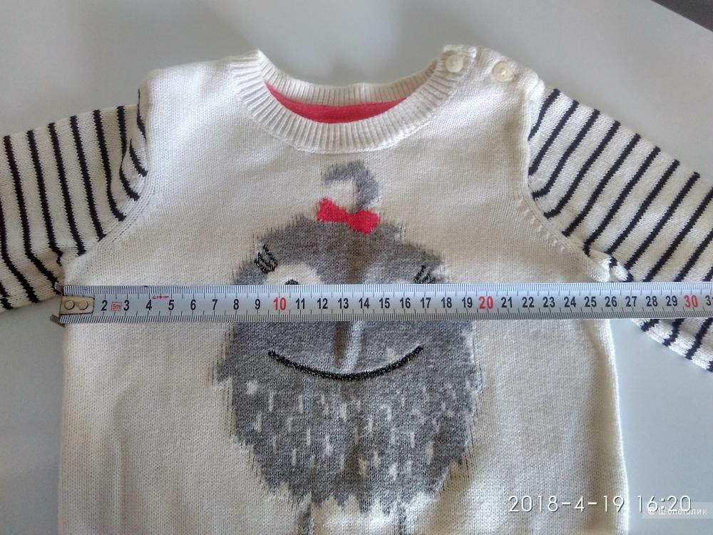 Свитер Baby GAP  6-12 мес или меньше хлопок