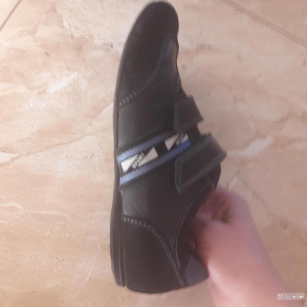 Кожаные туфли Elegami 34 размера