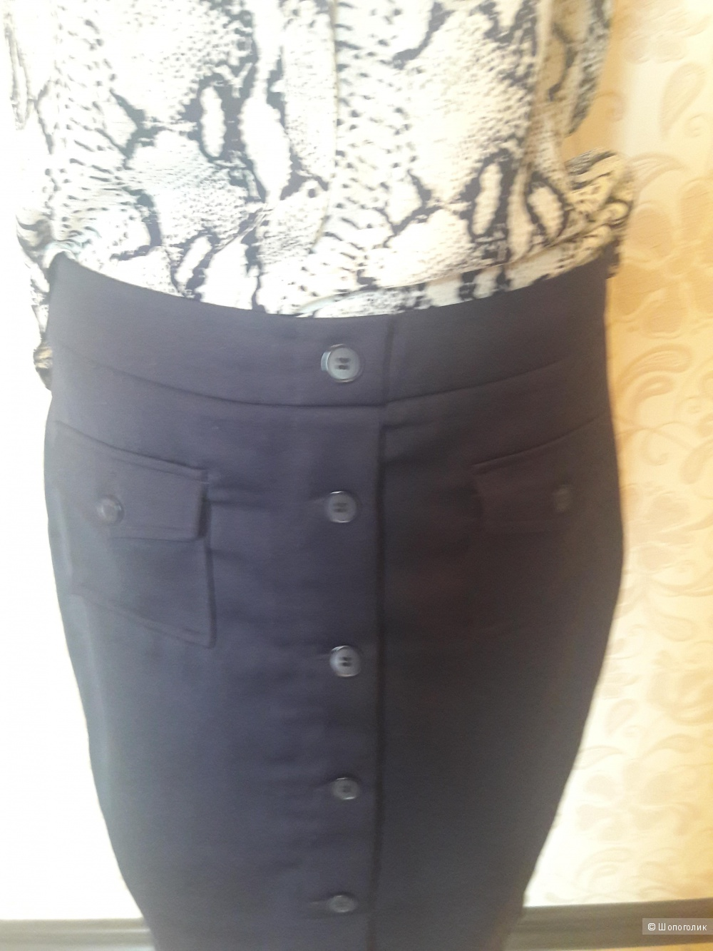 Сет : блуза Grace&Milа, M  и в подарок юбка  Sela, 46