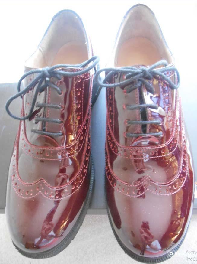 """Ботинки """"броги"""" Mario Mikke 37 размер"""