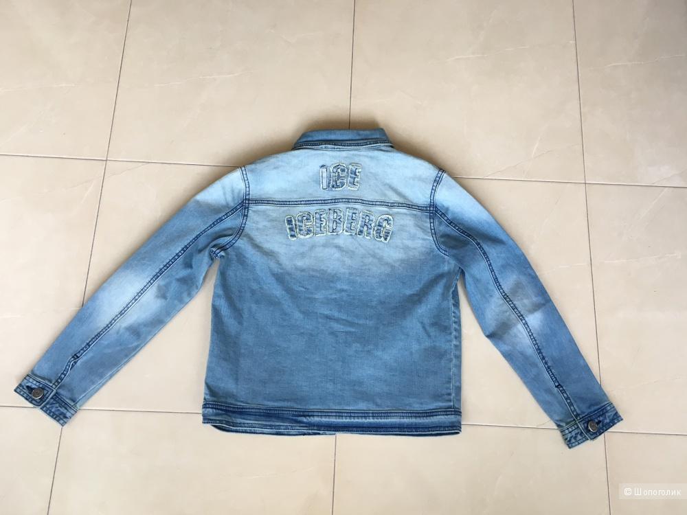 Джинсовая куртка ICE ICEBERG JUNIOR 10лет