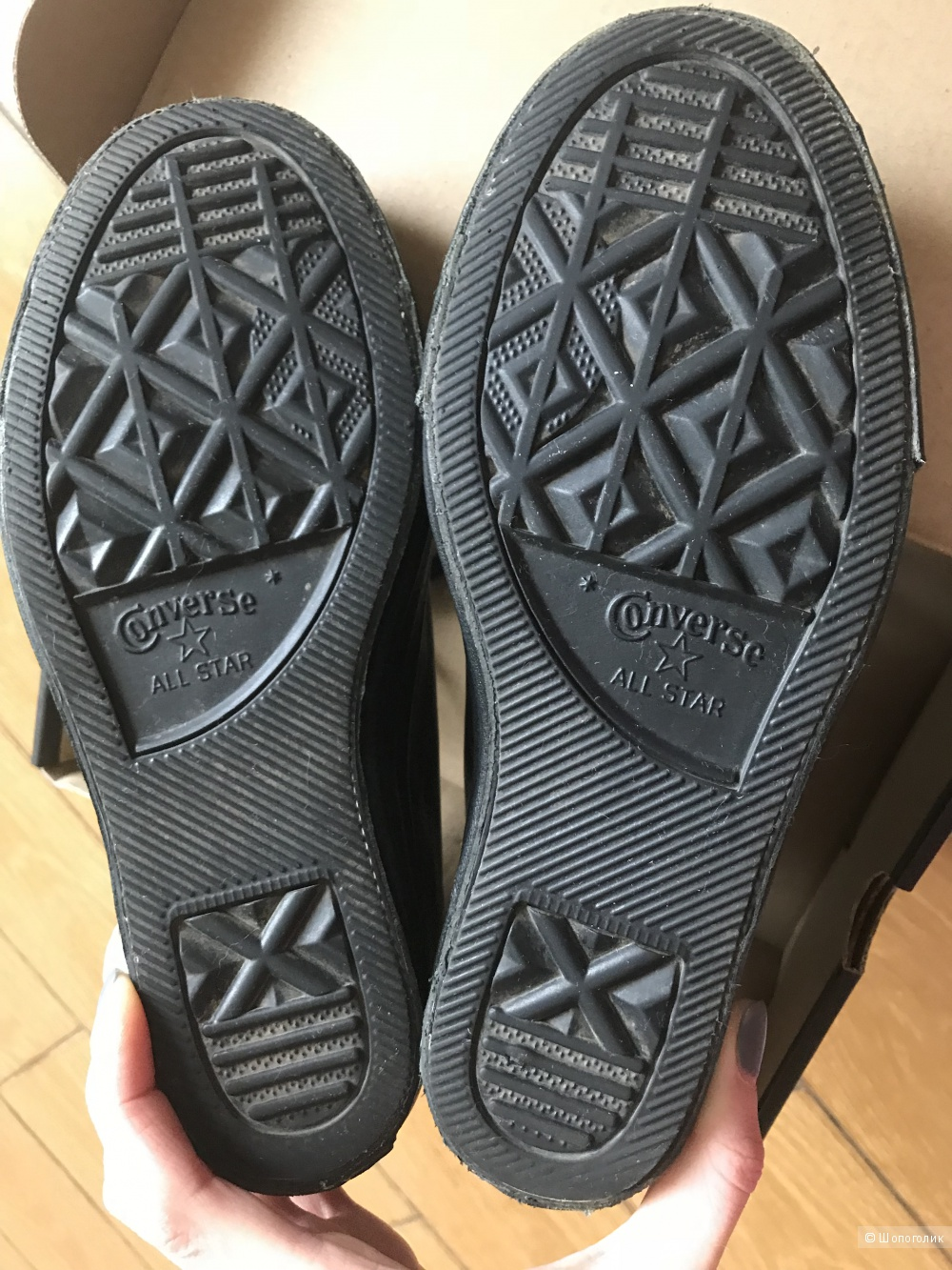 Кожаные ботинки Converse, размер 37