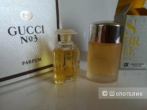 Сет 2 миниатюры - Gucci No 3 , 4 мл. - XS Pour Elle Paco Rabanne 5 мл.