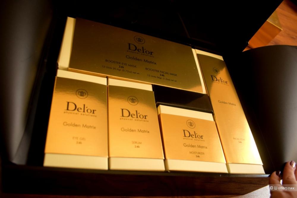 Набор для омоложения 24k Delor Golden Matrix