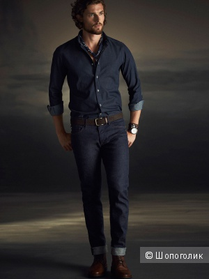 Мужские джинсы SLIM FIT Massimo Dutti, размер 40
