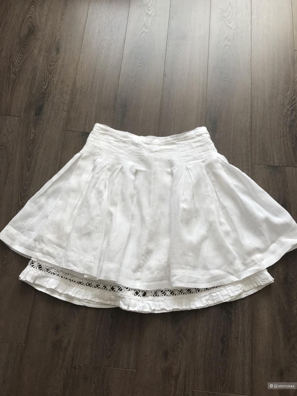 Льняная юбка AnnaRitaN р 42it