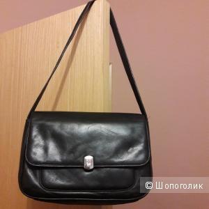 Кожаная сумка Lauren Ralph Lauren