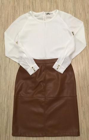 Комплект блузон Iconic, размер M+ Юбка Vila, размер М