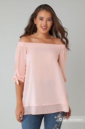 Блуза Yours большого размера 24 uk