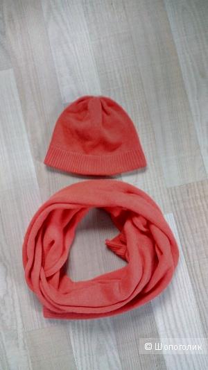 Комплект шапка и шарф фирмы global