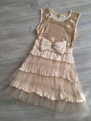Платье нарядное для девочки Faberlic, р.140