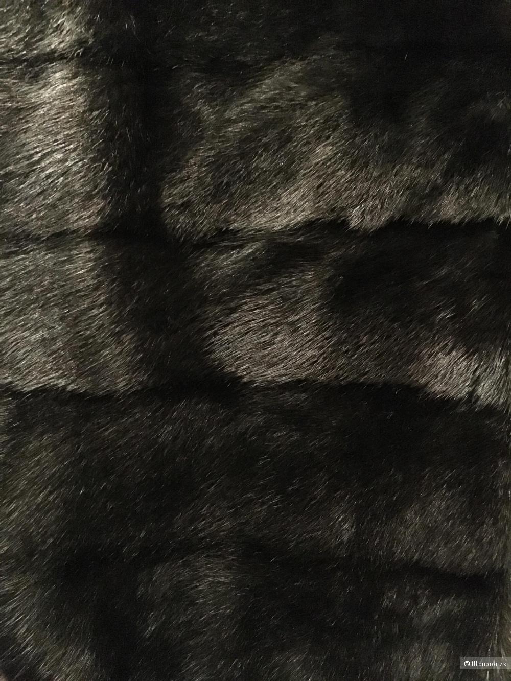 Норковая шуба, размер 44-46. Производство Греция.