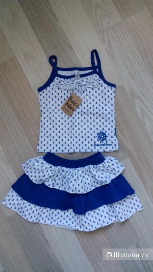 Комплект юбка и топ размер 3-4 года