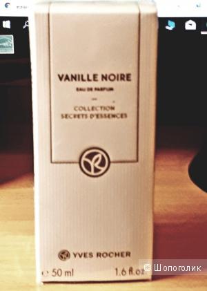 Парфюмерная вода Черная ваниль Yves Rocher, 50 мл