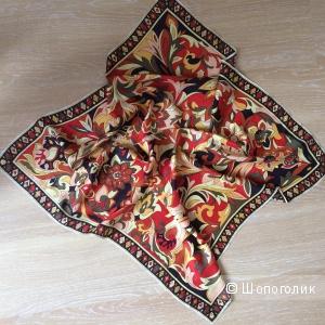 Шёлковый платок, р-р 78-78