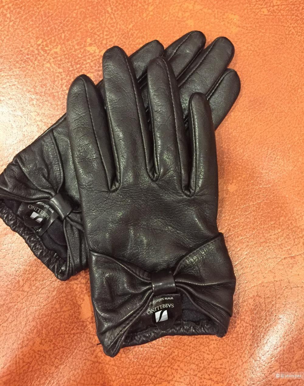 Кожаные перчатки Sabellino 6,5 размер