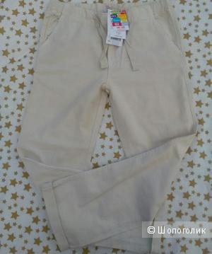 Летние брюки для девочки. Dpam 10 лет