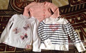 Сет кофточек на девочку 6/7 лет, Cherubino, Gloria jeans