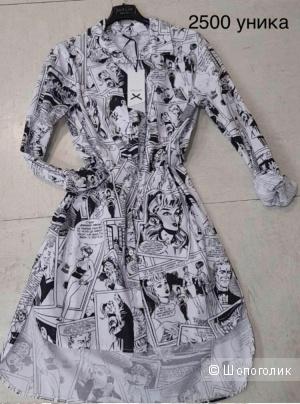 Рубашка-платье 42-44