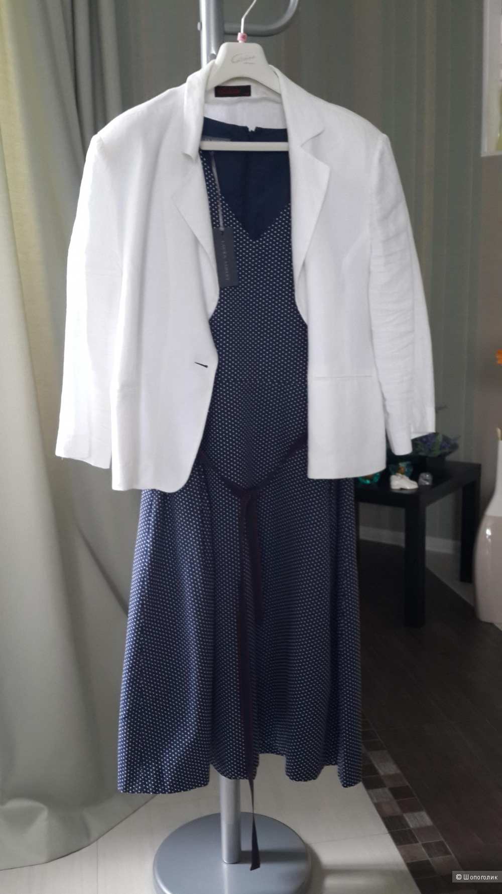 Платье летнее  LAURA ASHLEY,размер 52-54