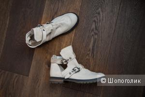 Кожаные ботинки ASOS 40 41 7 UK