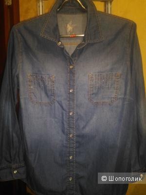 Джинсовая  рубашка,Gerry Weber 52-54