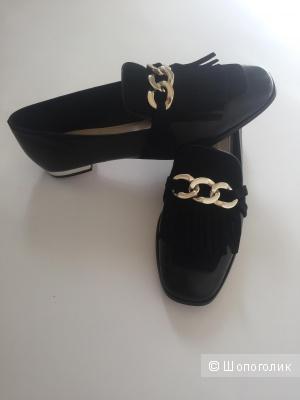 Туфли лоферы Massimo Dutti размер 38