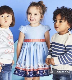 Платье для девочки, размер 80см