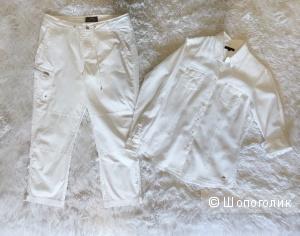 Рубашка Tommy Hilfiger, брюки Ralph Lauren active р 46