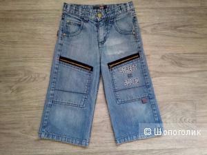 Джинсовые шорты-бриджи для мальчика EXIT, 7 лет