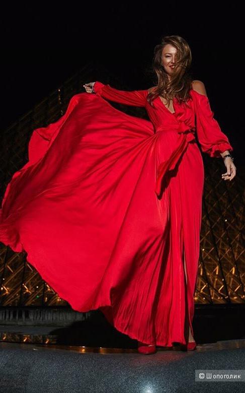 Шёлковое платье  Maison D'angelann, S-L