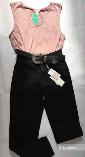 Сет джинсы Pull & Bear размер 34 и топ Hm размер м