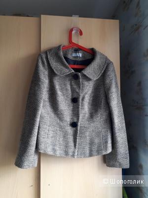 Легкое пальто-жакет WILLIS р.16 uk на 50 русский размер