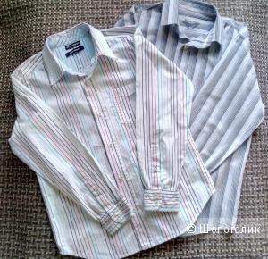 Сет из двух рубашек для мальчика (Blue Base и Marks & Spencer), 10-11 лет