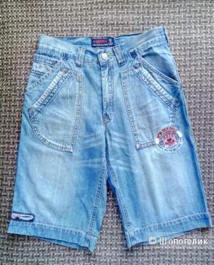 Джинсовые шорты для мальчика WPM, 10-12 лет
