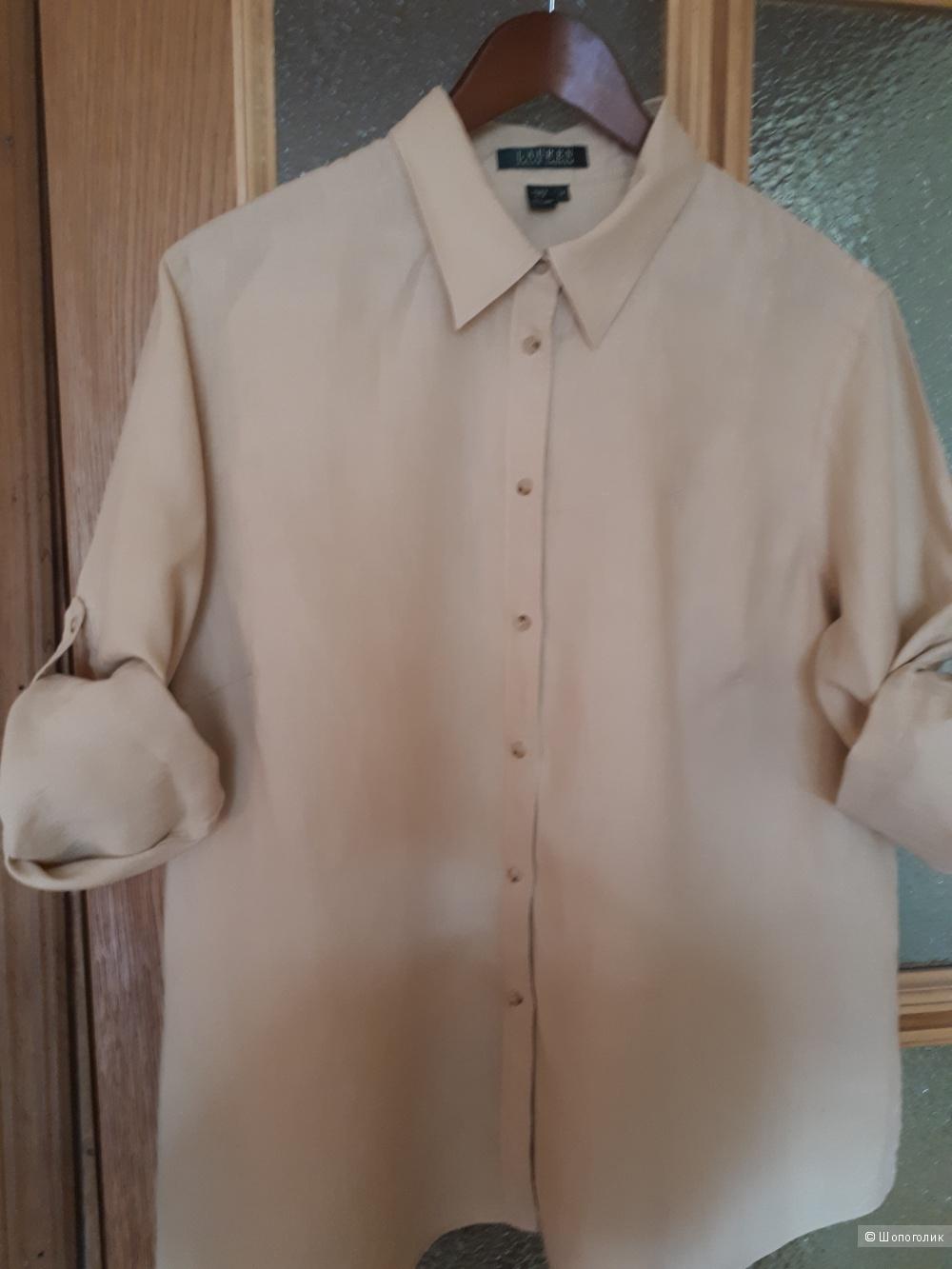 93de1fc4d14 Рубашка 100% лен RALPH LAUREN размер 1X