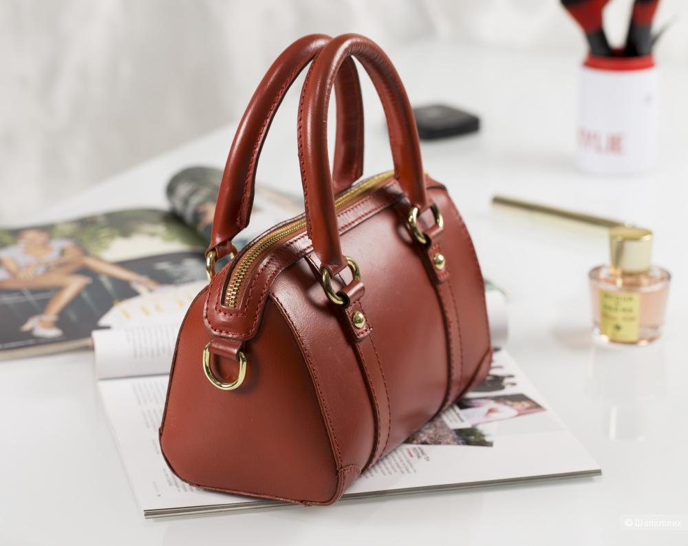 2c03da594950 Zara - сумка-саквояж, женская, small., в магазине ZARA — на Шопоголик