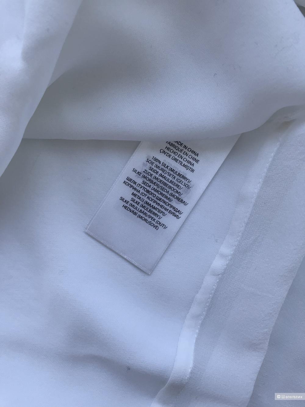 Рубашка из  100 %  шелка  RALPH LAUREN размер XL
