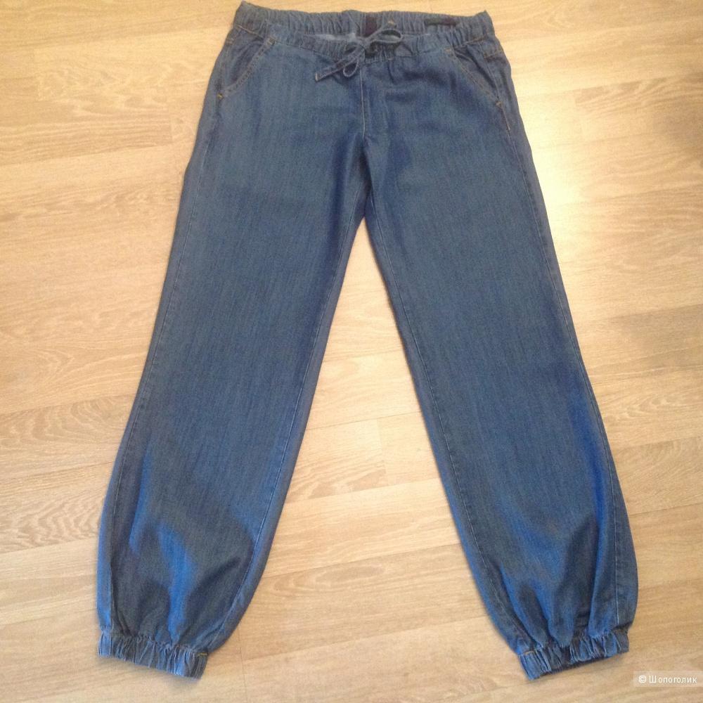 Джинсовые брюки Benetton Loose, 44/46