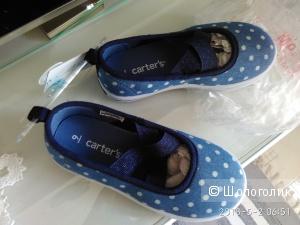 Туфли кеды Carters 25 размер