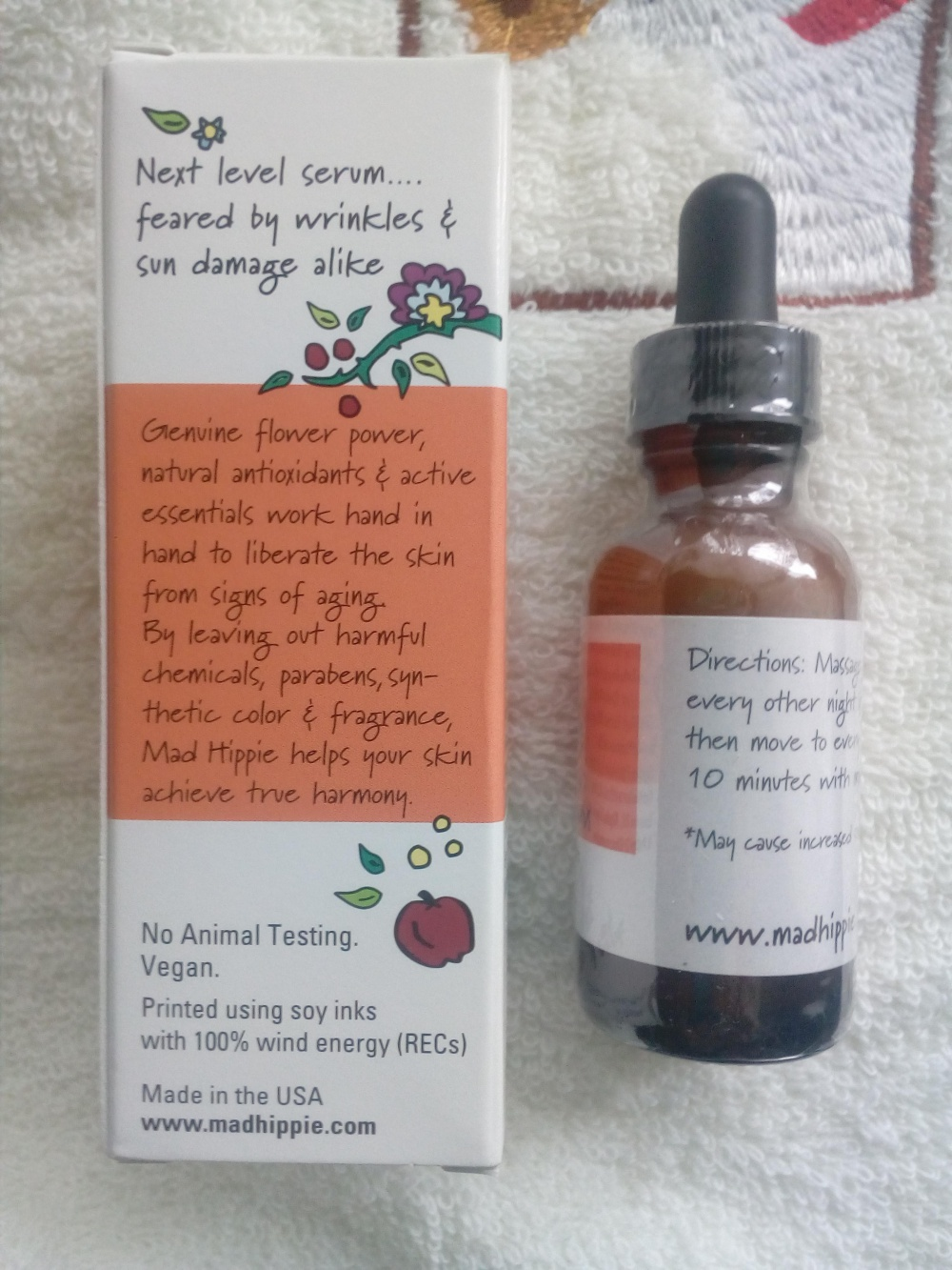 Mad Hippie Skin Care Products, Сыворотка с витамином A, 30мл.
