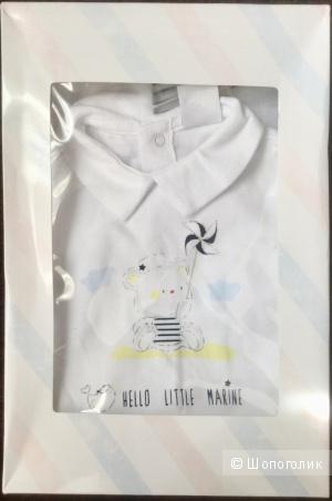 """Комплект детской одежды Birba """"Hello little marine"""" 6 месяцев 68 см"""