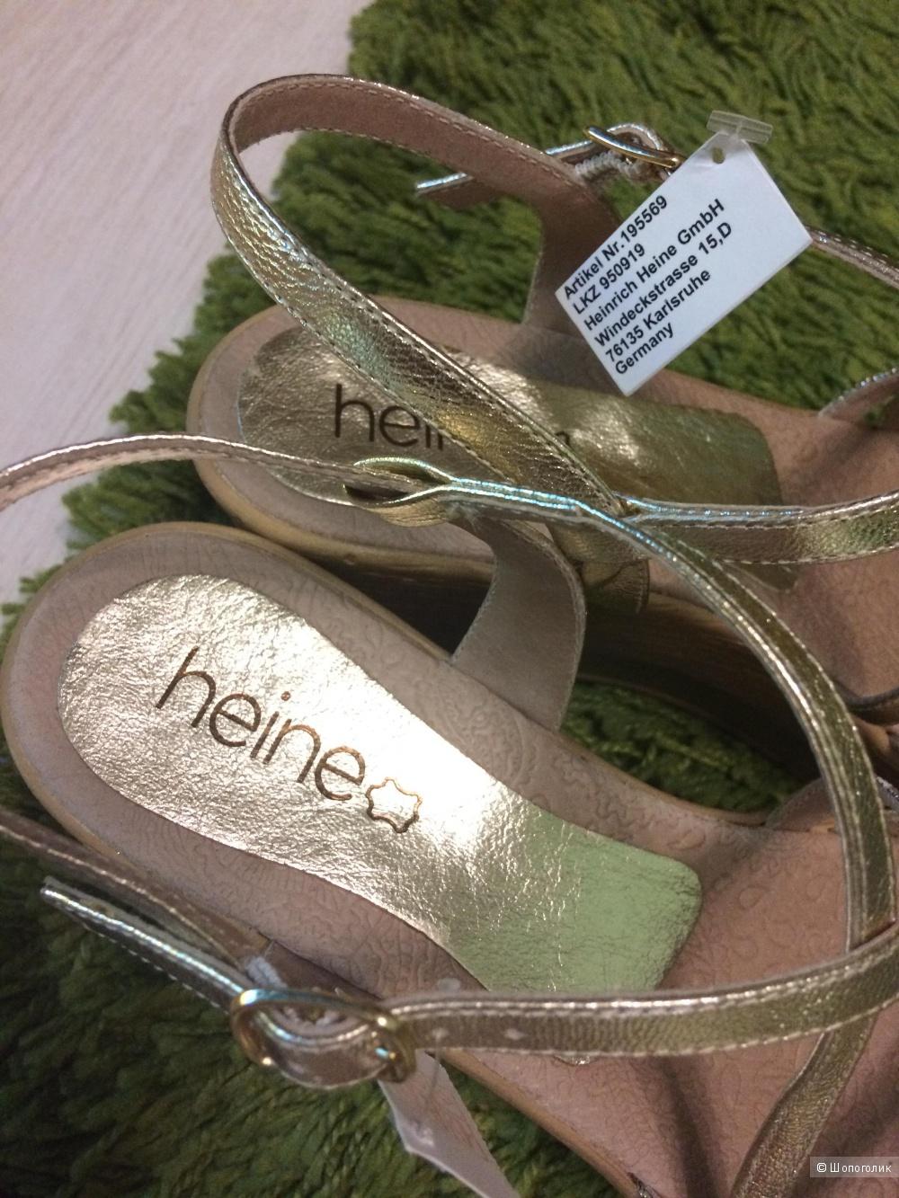 Босоножки Heine 39-40 размер