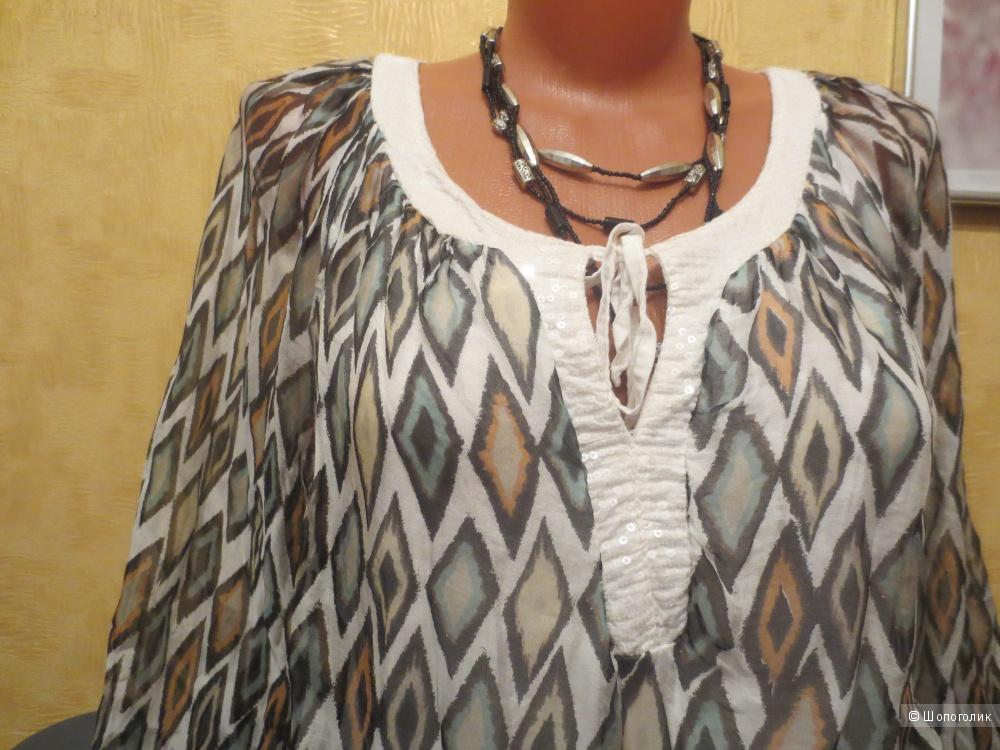 Блузка  из шелка  ноунейм,  46-48