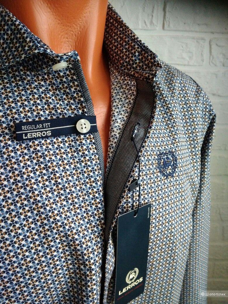 Рубашка мужская Lerros, размер 48-50
